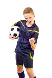 Jugador de fútbol fotos de archivo libres de regalías