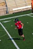 Jugador de fútbol americano de la High School secundaria Fotografía de archivo libre de regalías