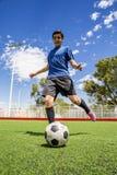 Jugador de fútbol del fútbol Imagenes de archivo
