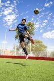 Jugador de fútbol del fútbol Foto de archivo