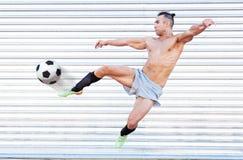 Jugador de fútbol del fútbol i Fotografía de archivo libre de regalías