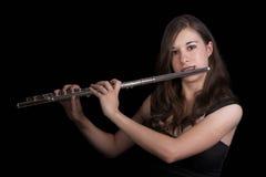 Jugador de flauta #2 Fotografía de archivo