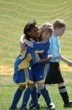 Jugador de fútbol de la juventud Imagen de archivo
