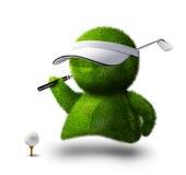 Jugador de golf Fotos de archivo libres de regalías