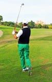 Jugador de golf, Andalucía, España Foto de archivo