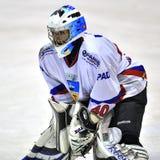 Jugador de hockey Imagen de archivo libre de regalías