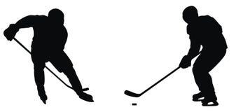 Jugador de hockey Fotos de archivo libres de regalías