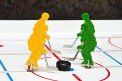 Jugador de hockey cuatro Fotografía de archivo libre de regalías
