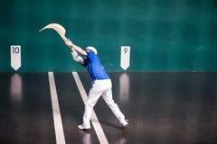 jugador de Jai-alai Foto de archivo libre de regalías