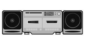 Jugador de la grabadora del vintage ilustración del vector