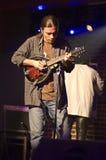 Jugador de la mandolina Imagen de archivo libre de regalías