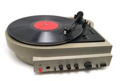 Jugador de los discos del vinilo Foto de archivo libre de regalías