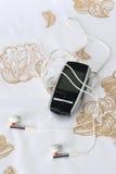 Jugador de música MP3 Foto de archivo