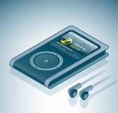Jugador de multimedia MP3/MP4 Imagen de archivo libre de regalías