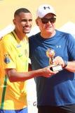 Jugador de MVP - Mundialito Carcavelos 2017 Portugal Fotos de archivo libres de regalías