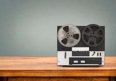 Jugador de película retro imagen de archivo