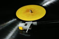 Jugador de registro de vinilo Foto de archivo libre de regalías