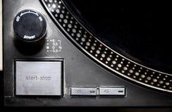 Jugador de registro - disco de larga duración - dé vuelta al vector Imagen de archivo