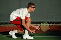 Jugador de tenis Fotos de archivo libres de regalías