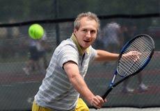 Jugador de tenis foto de archivo libre de regalías