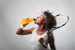 Jugador de tenis Fotos de archivo