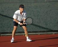 Jugador de tenis Imágenes de archivo libres de regalías