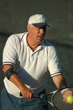 Jugador de tenis Imagen de archivo libre de regalías