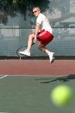 Jugador de tenis Fotografía de archivo