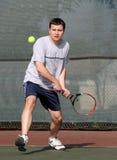 Jugador de tenis imagenes de archivo