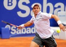 Jugador de tenis argentino Carlos Berlocq Imagen de archivo libre de regalías