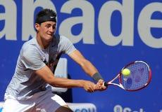 Jugador de tenis australiano Bernard Tomic Fotografía de archivo libre de regalías