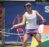 Jugador de tenis Beatrice Gumulya de Indonesia Imagen de archivo