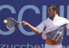 Jugador de tenis de Gianluca Naso (AIE) Foto de archivo libre de regalías
