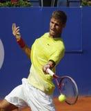 Jugador de tenis eslovaco Martin Klizan Foto de archivo libre de regalías