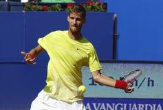 Jugador de tenis eslovaco Martin Klizan Fotografía de archivo libre de regalías