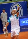 Jugador de tenis español David Ferrer Foto de archivo
