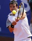 Jugador de tenis español Iñigo Cervantes Fotos de archivo libres de regalías