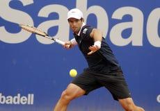 Jugador de tenis español Pablo Andujar Fotos de archivo
