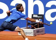 Jugador de tenis español Pablo Carreno Busta Fotos de archivo libres de regalías