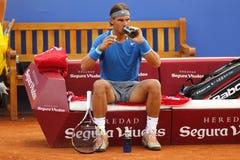 Jugador de tenis español Rafa Nadal Fotografía de archivo