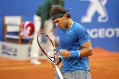 Jugador de tenis español Rafa Nadal Fotografía de archivo libre de regalías