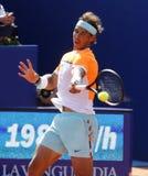 Jugador de tenis español Rafa Nadal Imagen de archivo libre de regalías