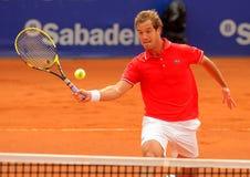Jugador de tenis francés Richard Gasquet Imágenes de archivo libres de regalías