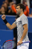 Jugador de tenis Grigor Dimitrov imagenes de archivo