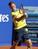 Jugador de tenis húngaro Marton Fucsovics Fotografía de archivo