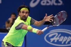 Jugador de tenis Marcos Baghdatis Foto de archivo libre de regalías