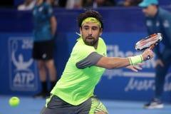 Jugador de tenis Marcos Baghdatis Fotografía de archivo libre de regalías