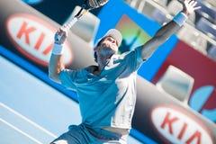 Jugador de tenis Pablo Andujar Fotos de archivo