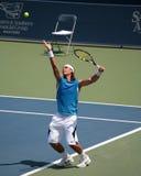 Jugador de tenis Rafael Nadal Imagen de archivo libre de regalías