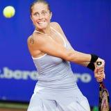 Jugador de tenis rumano Madalina Gojnea Fotos de archivo